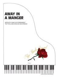 AWAY IN A MANGER ~ SATB w/piano acc
