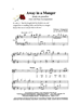 AWAY IN A MANGER/SATB w/piano acc - LM1064DOWNLOAD