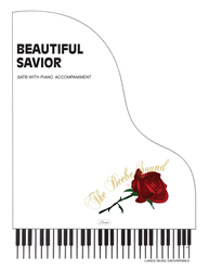 BEAUTIFUL SAVIOR ~ SATB w/piano acc