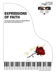EXPRESSIONS OF FAITH - Violin Solos Volume 1