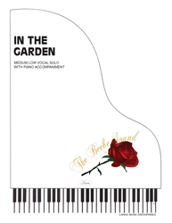 IN THE GARDEN - Med Low Vocal Solo w/piano acc