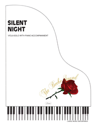SILENT NIGHT - Viola Solo w/piano acc