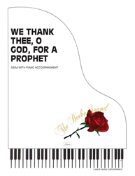 WE THANK THEE O GOD FOR A PROPHET ~ SSAA w/piano acc
