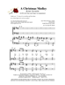 A CHRISTMAS MEDLEY - SATB w/piano & organ acc - LM1015DOWNLOAD
