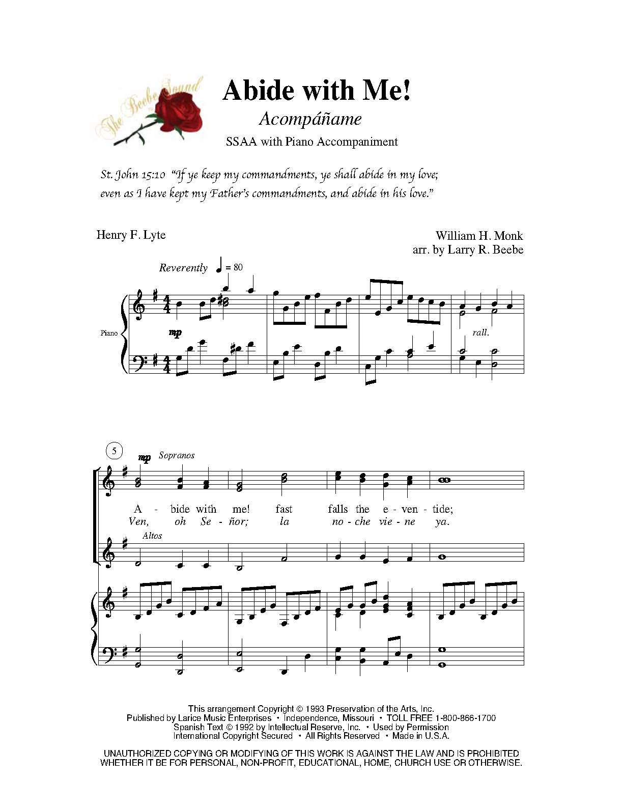 abide with me piano tutorial