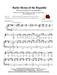Battle Hymn of the Republic - Group Hymn Singing w/organ acc - LM4003/1DOWNLOAD