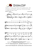 CHRISTMAS CHILD/SATB w/piano acc - LM1075DOWNLOAD