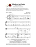 I BELIEVE IN CHRIST/SATB w/organ acc - LM1012DOWNLOAD