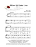 I Know My Father Lives - SATB w/piano acc - LM1070/4DOWNLOAD