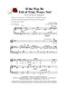IF THE WAY BE FULL OF TRIAL WEARY NOT/SATB w/piano acc - LM1135DOWNLOAD