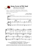 Jesus Lover of My Soul - SATB w/piano acc - LM1070/1DOWNLOAD