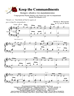 Keep the Commandments - Group Hymn Singing w/organ acc - LM4009/2DOWNLOAD