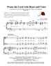 Praise the Lord with Heart & Voice -Group Hymn Singing - LM4002/1DOWNLOAD