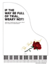 IF THE WAY BE FULL OF TRIAL, WEARY NOT! ~ Vocal Solo w/piano acc - LM2034