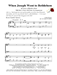 WHEN JOSEPH WENT TO BETHLEHEM ~ TBB with Piano acc - LM1115