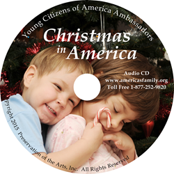 CHRISTMAS IN AMERICA ~ Audio Music CD