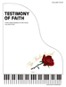 TESTIMONY OF FAITH VOLUME 4 ~ Piano Solos - LM3059
