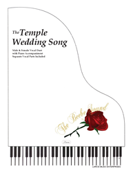 THE TEMPLE WEDDING SONG ~ Vocal Duet w/piano acc